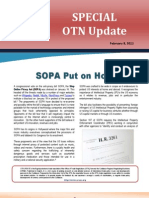 OTN Special Update - SOPA Put on Hold (2012-02-20)