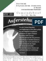 Gemeindebrief Frühjahr2012