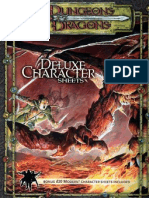 D&D 3.5 - Deluxe Character Sheets
