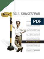 Entrevista a Raúl Shakespear - Revista 90+10