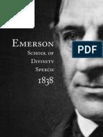 Emerson Speech Full
