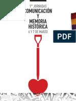 I Jornadas Comunicación y Memoria Histórica