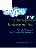 Skype for Literacy and Language Learning