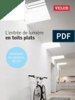 Brochure entrées lumière en toits plats VELUX