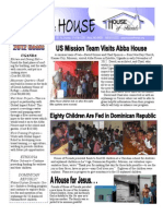 House Of Friends February 2012 newsletter