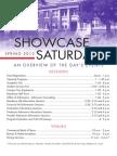 2012 SFA Showcase Saturday