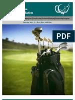 2012 SK Golf Tournament Flyer