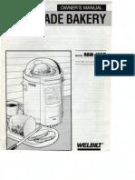 Welbilt ABM-150R Bread Machine