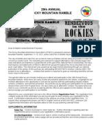 2012 Vendor Registration Forms