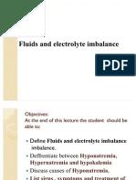 Fluids and Electrolyte Imbalance