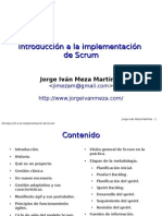 Introduccion a La Implementacion de Scrum