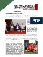 Bancada Nacionalista Gana Perú - Boletin Nº 16