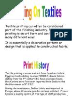 Printing on Textiles (1)