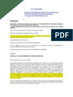 CCT N 451 06 COMERCIO CÁMARAS CALL CENTERS CÓRDOBA