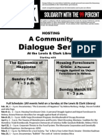 Community Dialogue Poster 1
