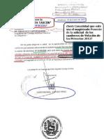 Origen de la  Lista Tascon y Sentencia Solicitud de Cuadernos de Votación Primarias 2012