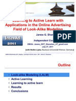 Learning to Active Learn With Applications in the Online Advertising Field of Look-Alike Modeling