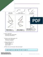 Geometry 1 Triangles