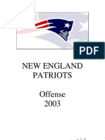 2003 New England Offense - Charlie Weis