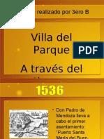 Villa Del Parque - Línea de Tiempo - 3er. B