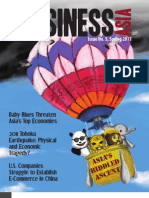 Business Asia 5th Issue - Asia's Riddled Ascent