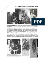 The 1932 Cancer Cure - By Joseph Gallgher