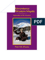 """UFO contact with Saint Germain, Chinese translation of """"Adventures of a Western Mystic"""" by Peter Mt. Shasta"""