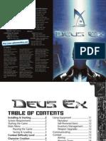 Deus Ex - Manual - PC