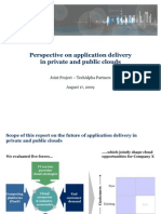 Application Delivery via Hybrid Clouds