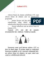 Arbori AVL