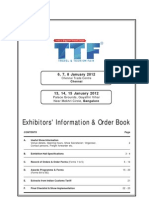 Exhibitor Manual TTF Chennai+Bangalore 2012