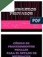 documentos privados