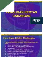 6.Penulisan Kertas Cadangan tindakan Pspn Sabah