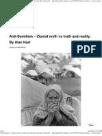 Anti-Semitism – Zionist myth vs truth and reality. By Alan Hart _ Kanan48