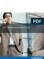 Compuware End User Experience White Paper De