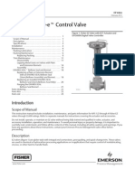 Fisher EZ Control Valve-Instruction Manual