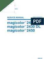 110123 Magi Colour DL 2450 Service Manual V4
