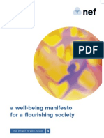 New Economics Foundation - A Well-Being Manifesto 2004