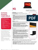 Compaq Presario Cq42-203la + Memoria Usb 2gb