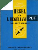 Rene-Serreau-HEGEL-et-L'HEGELIANISME-qsj-1029-Puf-Paris-1968