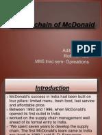 Food Chain of McDonald