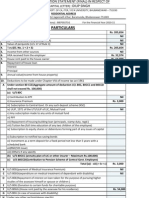 Income Tax Format