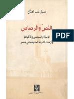 النص والرصاص - الإسلام السياسي والأقباط وأزمات الدولة الحديثة في مصر - نبيل عبد الفتاح