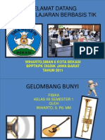 Gelombang Bunyi Power Point
