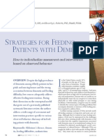 Strategies for Feeding Patients With Dementia.18