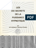 [eBook Fr] Hypnose - Les 10 Secrets de La Puissance Hypnotique