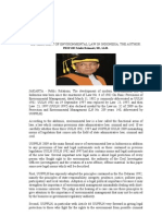 Development of Environmental Law in Indonesia, The Author