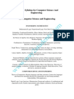 Syllabus for Computer Science and Engineering