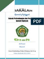 Sejarah Perkembangan dan Penyusunan Qawaid Fiqhiyyah PDF