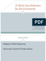 Oil Gas Sector - EVM